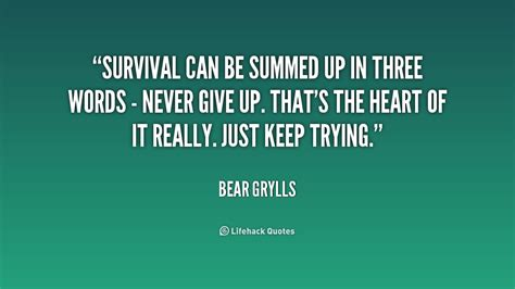 Survival Guide Quotes