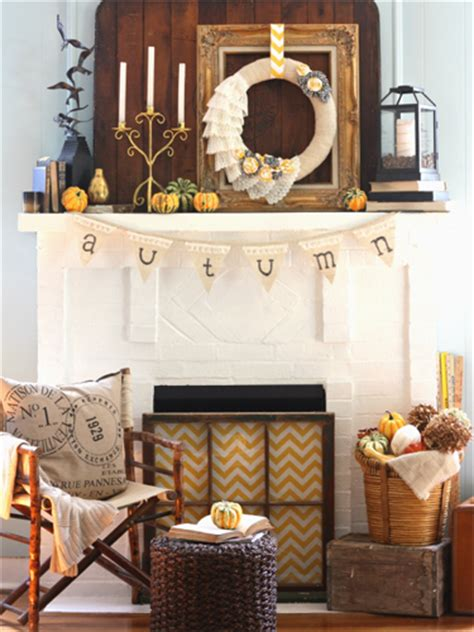 country mantel decor 35 fall mantel decorating ideas mantel decorations