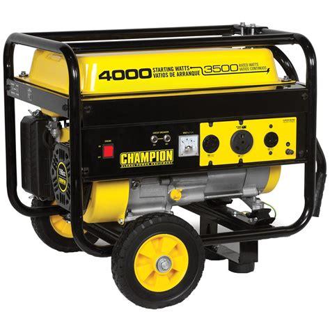 chion power equipment portable 3 500 4 000 watt