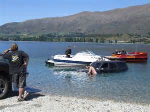 boat launch in french lake boat launch goes wrong otago daily times online