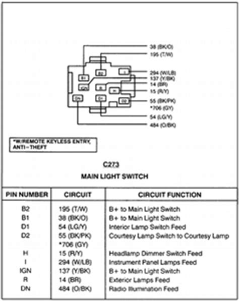 solved light switch wire diagram 1995 f350 fixya
