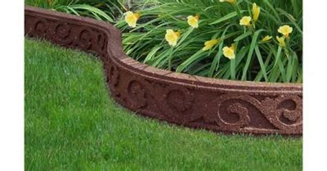 home depot garden section multy home 3 5 in x 48 in rubber flexi curve terra cotta
