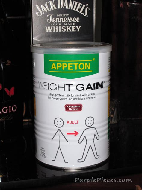 Appeton Gain are you underweight try appeton weight gain milk