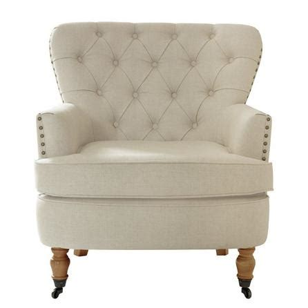 button back armchair cream collette button back armchair