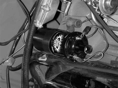 installing a ballast resistor for ignition coil installing pertronix ignition parts rod network