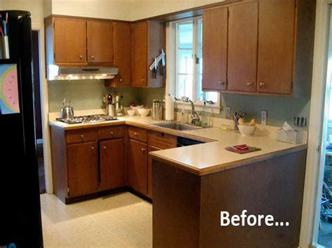 Kitchen Cabinets Before And After Painted Kitchen Cabinets Before And After