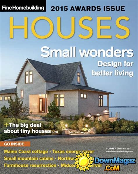 announcing fine homebuilding s 2015 houses award winners fine fine homebuilding houses usa summer 2015 187 download pdf