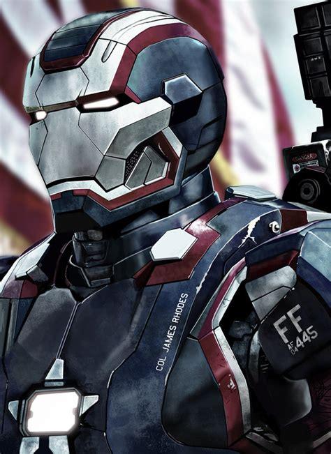 Ironman Patriot Tideway iron patriot by heroforpain on deviantart