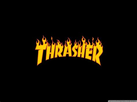 Camo Wall Stickers thrasher flaming logo 4k hd desktop wallpaper for wide