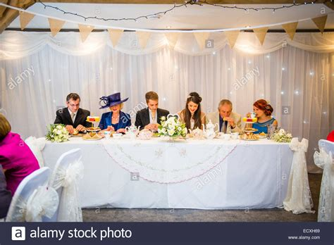 and groom wedding table getting married wedding day uk the and groom at