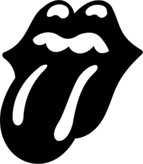 printable vinyl transparent the rolling stones tongue logo vector eps free download