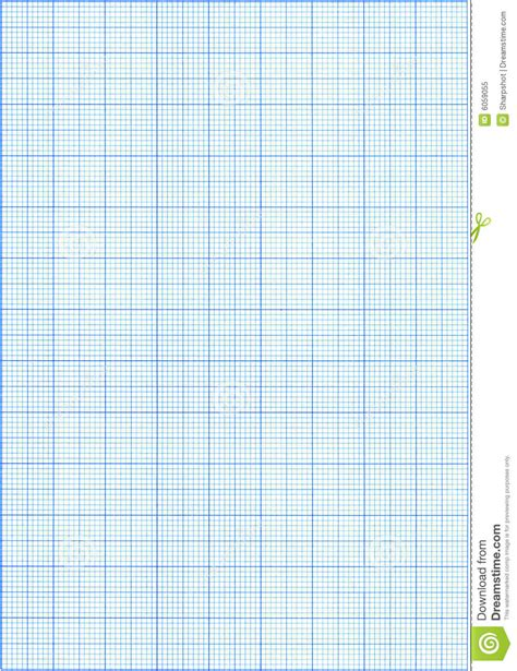 printable millimeter block blue graph paper stock image image of measurement color