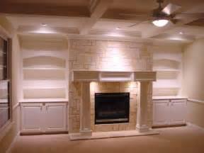 fireplace bookshelf design ideas