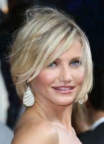 Short hairstyles for thin hair with round face