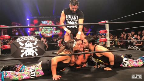 Kaos Njpw Marty Scurll Villain Club Gold T Shirt Patch adam cole fired from bullet club enter marty scurll pwp nation