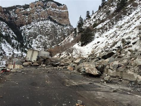 fly fishing colorado s blue rockslide closes i 70 in glenwood colorado fly