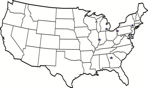blank political map of america usa political map clip at clkercom vector clip