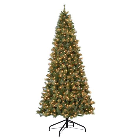 jaclyn smith 9 pre lit clearwater tree with 800 clear lights