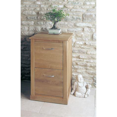 Mobel Oak Two Drawer Filing Cabinet   Wooden Furniture Store