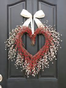 door wreaths for valentine wreath door wreaths you have my heart