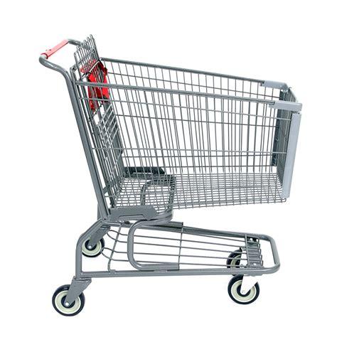 shopping cart high quality metal standard grocery shopping cart model 200