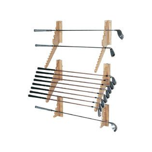 Golf Club Display Rack Wall by Garage Storage Golf Club Rack From Sears