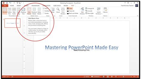 master template powerpoint how to use slide masters in