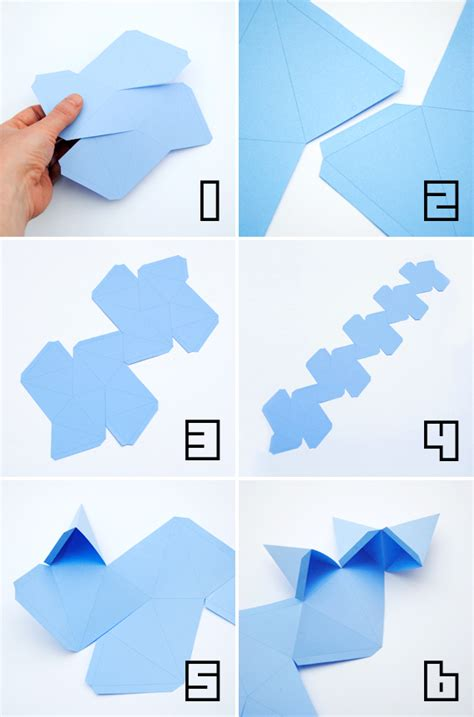 best photos of great dodecahedron template paper