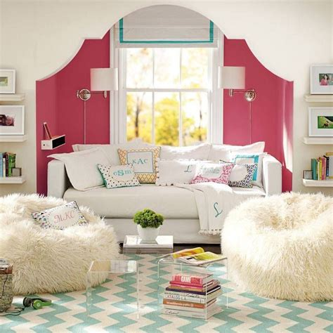 teen bedroom seating pottery barn teen tween girls room decor ideas