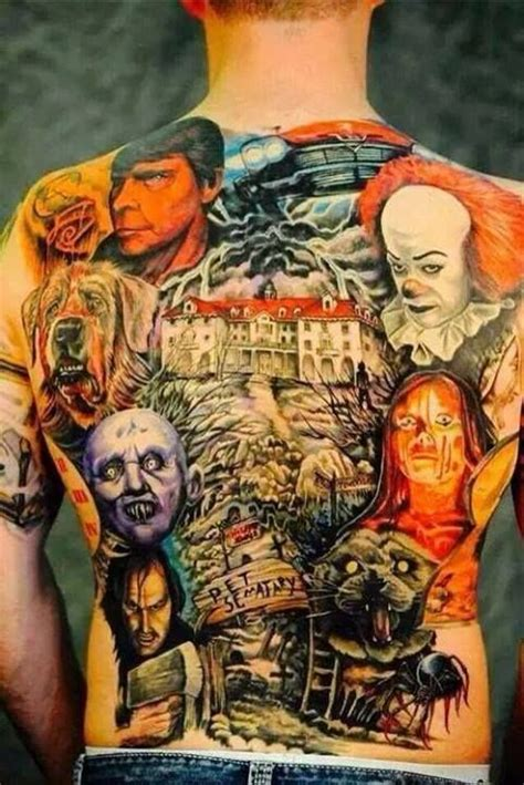 horror movie tattoo designs horror inspired tattoos sick tattoos and news