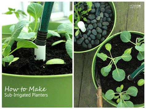 Remodelaholic 25 Diy Planter Tutorials Sub Irrigated Planter