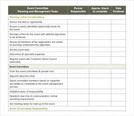 Event Planning Checklist Template Free by Event Order Template 11 Free Excel Pdf Documents