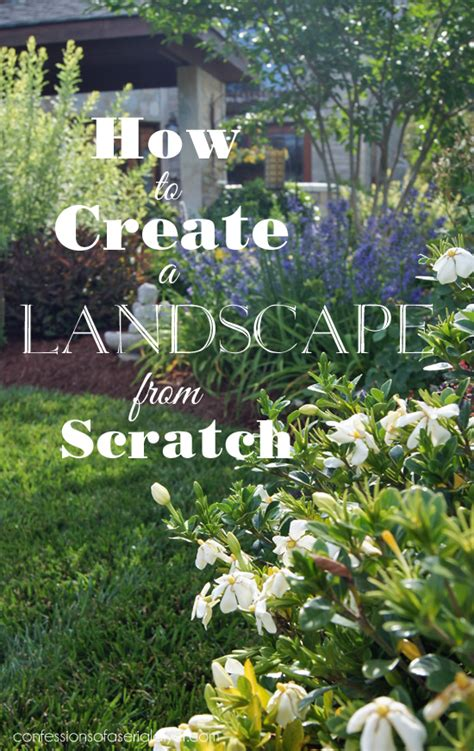 Serial Garden Answers How To Create A Landscape From Scratch Confessions Of A