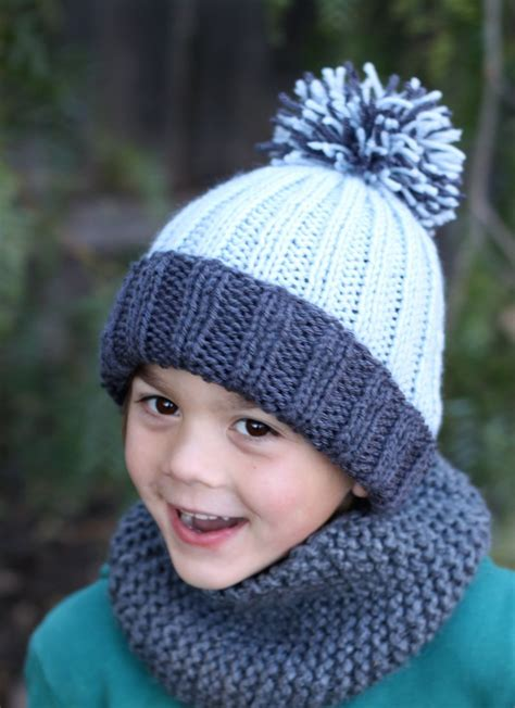 simple pattern for knitted beanie free knit hat pattern