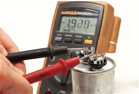 testing a c capacitors نحوه تست کردن خازنهای الکتروموتور تکفاز الکتروموتور و درایو