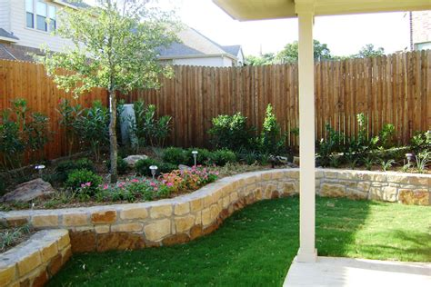 landscaped backyards landscape dallas landscape design abilene landscaping