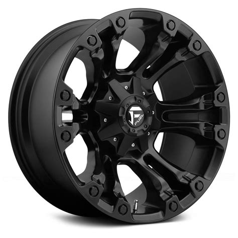 black wheels fuel 174 d560 vapor 1pc wheels matte black rims