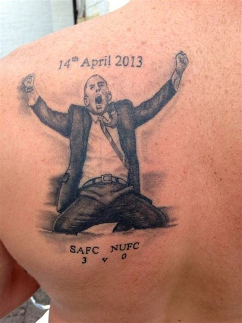 sunderland tattoo designs sunderland fan gets of paolo di canio s knee