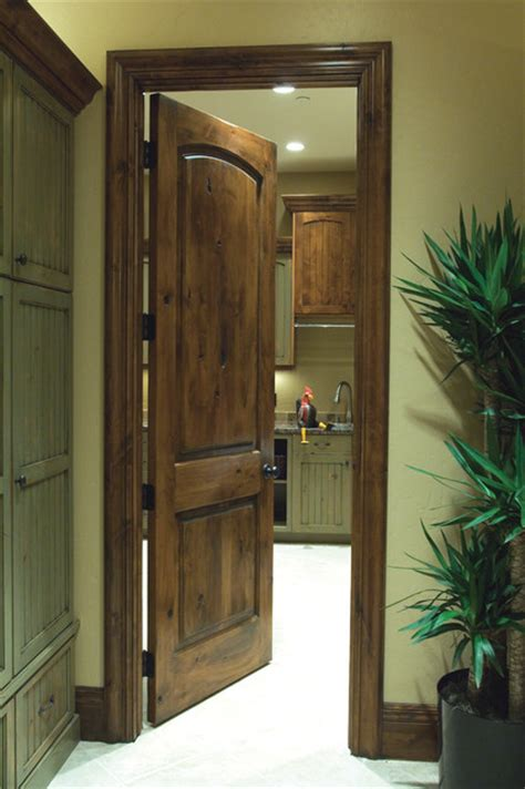 Knotty Alder Interior Doors by Knotty Alder A Look To Your Home