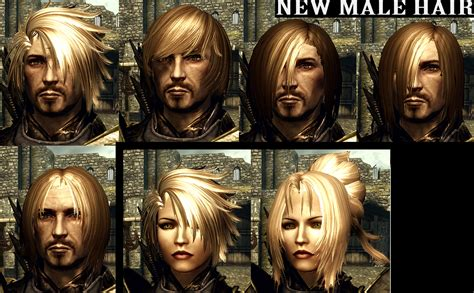 skyrim male hair mod hair pack at skyrim nexus mods and community