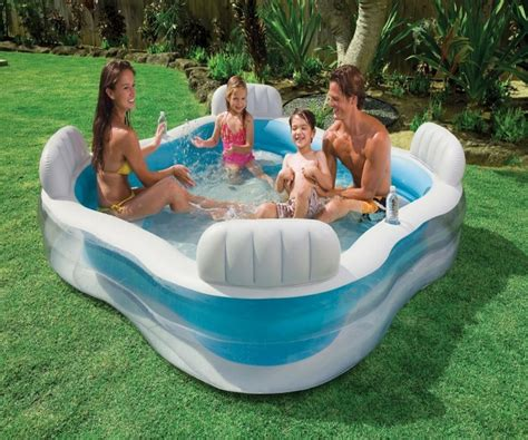 Family Swim Center Pool 185cm intex pools studio design gallery best design