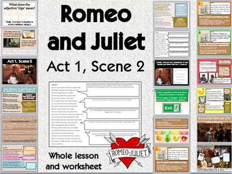 themes in romeo and juliet ks3 creative writing shakespeare and tefl resources