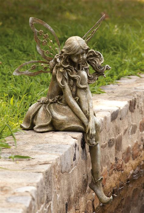 fairy garden statues evergreen enterprises bring upscale feel good function