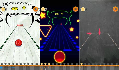doodle bowling معرفی بازی doodle bowling بولینگ کاغذی دیجیاتو
