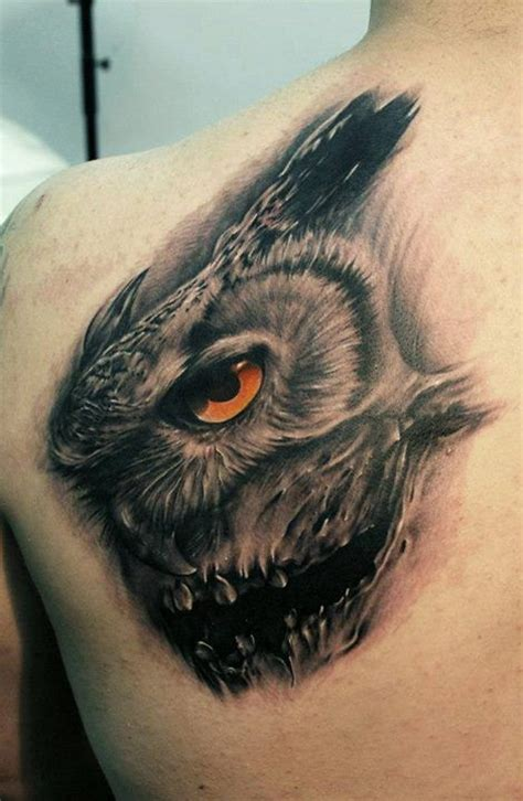 owl face tattoo 45 best images about idea on