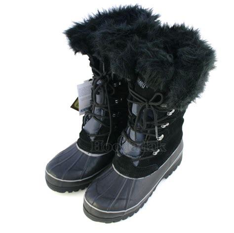 khombu snow boots khombu s nordic 2 waterproof winter boots snow shoes