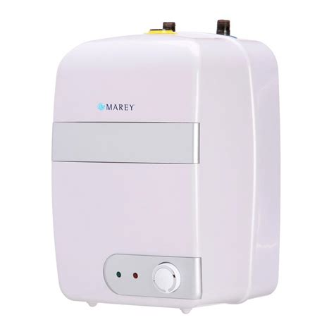 small electric water heater 10 gal marey 2 5 gal 5 year electric mini tank water heater