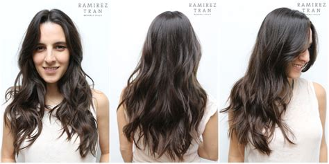 textured vs layered hair seamless layers and easy waves done the salon in la