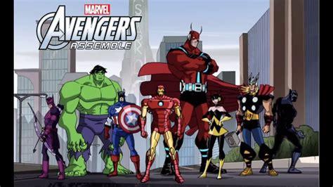 film seri avenger avengers assemble cartoon www pixshark com images