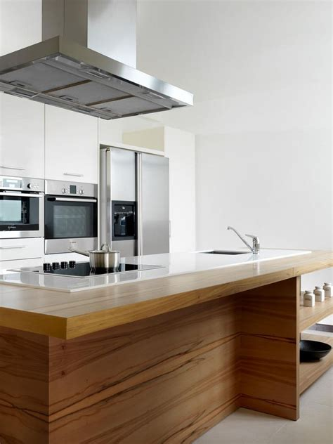 the kitchen islands are done to maximise space integrate the cooktop into the island